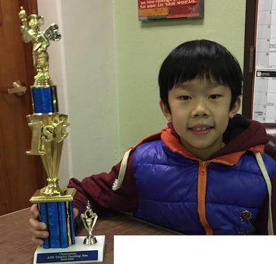 Garrick Tam wins District Spelling Bee!